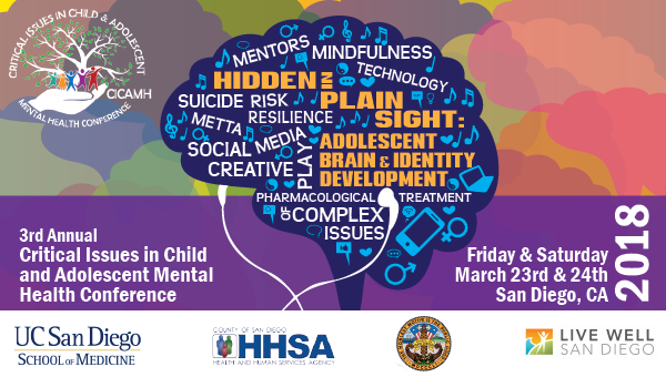 3rd Annual Critical Issues in Child and Adolescent Mental Health Conference